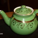 OUR AMERICAN GREEN TEAPOT