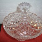 HEAVY GLASS CANDY DISH