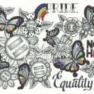 Pride and Equality Print 8.5 x 11 inches