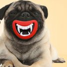 Vampire Teeth Squeaky Chew Toy Smile Funny Puppy Dog Vinyl Glue Squeaky Squeaker Toy