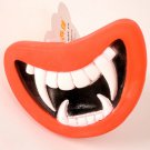 Vampire Teeth Squeaky Chew Toy Smile Funny Puppy Dog Vinyl Glue Squeaky Squeaker Toy