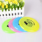 Frisbee Pet Play Toy Dog Flying Saucer Plate Have A Good Time Fetch Outside Beach Yard Game