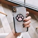 Paw Pop Up Phone Holder Expanding Soft Stand Hand Grip Mount For iPhone Cell Phone Bracket