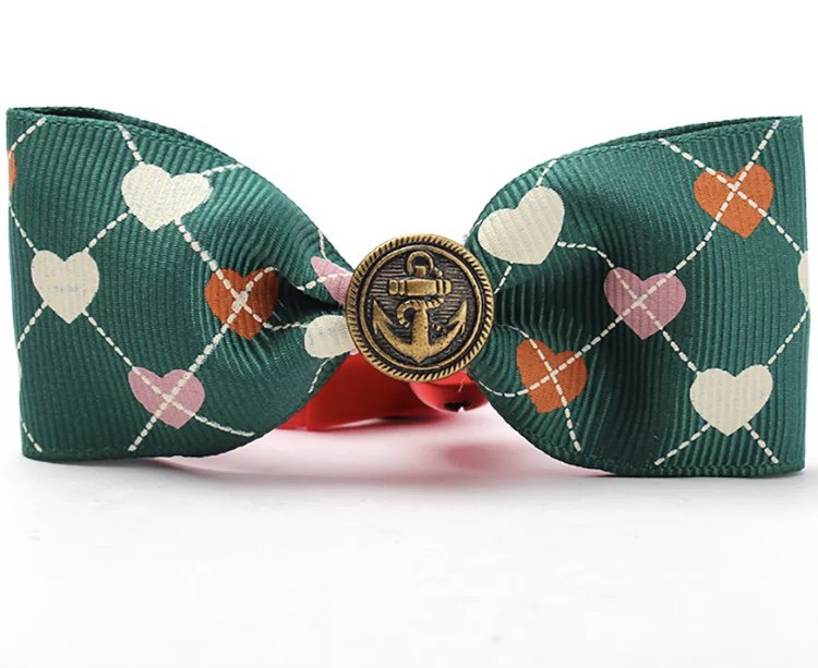 Adjustable Pet Bow Tie Bell Collar Dog Cat Accessories Supplies Cute Lovely Puppy Kitty Fashion