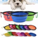Portable Outdoor Pet Bowls Collapsible Non-toxic Durable Silicone Bowl for Puppy Dogs Travel