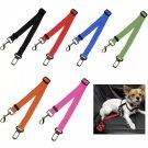 Car Safety Seat Belt Pet Puppy Dog Cat Restraint Blue Leash Adjustable High Quality Outdoor Travel