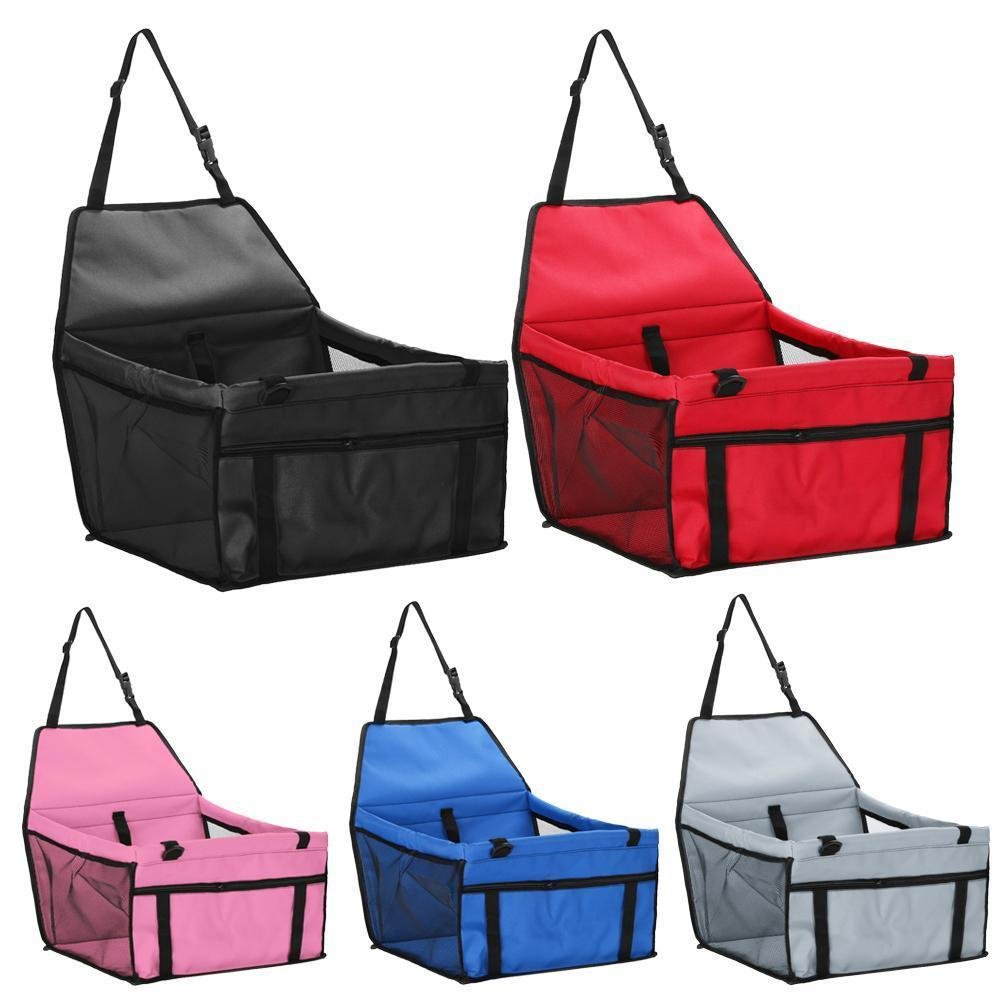 Pet Car Safety Seat Breathable Waterproof Puppy Dog Kitten Cat Travel Safe Carrier Pad Bag Basket