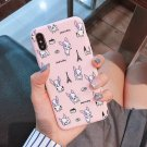 Dog Cell Phone Case iPhone Cover Skin French Bulldog Puppy Dog Animal Lover Mobile