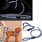 Reflective Step-in Harness Leash S-L Puppy Dog Nylon Safty Strap Outdoors Visible Protection