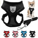 Pet Harness Leash Set Soft Mesh S-L Puppy Dog Vest Lead For Small Medium Dogs Outdoors Walk Supplies