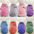 Classic Pet Pullover Sweater XS-2XL Puppy Dog Winter Jacket Clothes Cat Knitted Coat Apparel