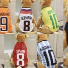 Futbol Soccer Pet Jerseys 3XL-6XL Dog Soccer Sports Fan World Cup Countries Teams Clothes