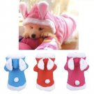 Easter Bunny Pet Hoodie XS-XL Holiday Rabbit Puppy Dog Kitten Cat Costume Cute Pets Clothes