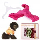 5pc Pet Clothes Hangers Environmental Clothing Rack Holder For Puppy Dog Doggy Kitten Cat Apparel