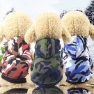 Camouflage Pet Hoodie XS-2XL Puppy Dog Cat Hooded Coat Sweatshirts Fashionable  Pets Clothes