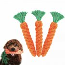Cotton Knot Rope Carrot Pet Chew Toy Puppy Dog Play Healthy Supplies Funny Vegetable Pets Toys
