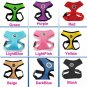 Paw Print Pet Harness XS-XXL Puppy Dog Cat Soft Mesh Control Walking Outdoors Collar