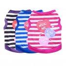Hug Me Kiss Me Love Me XS-2XL Pet Tank Top Puppy Dog Shirt Cat Clothes Love Valentine's Day Apparel