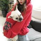 Peace Art Hoodies Matching Pet Parent Puppy Dog Cat Hippie World Print Hooded Sweatshirt Clothes