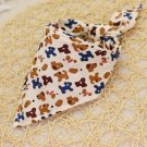Dog Print Pet Bandana Collar Puppy Dog Kitten Cat Triangle Neck Scarf Adjustable Neckerchief