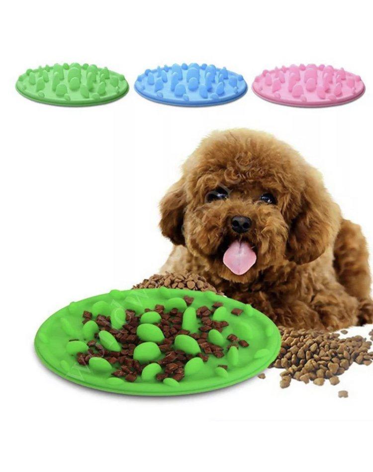 Pet Anti-Gulping Slow Down Food Water Eating Drinking Puppy Dpg Kitten Cat Bowl Pets Supplies