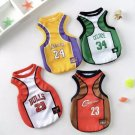 NBA Basketball Pet Jersey XS-6XL Lakers Bulls Cavaliers Celtics Sport Team Puppy Dog Cat Tank Top