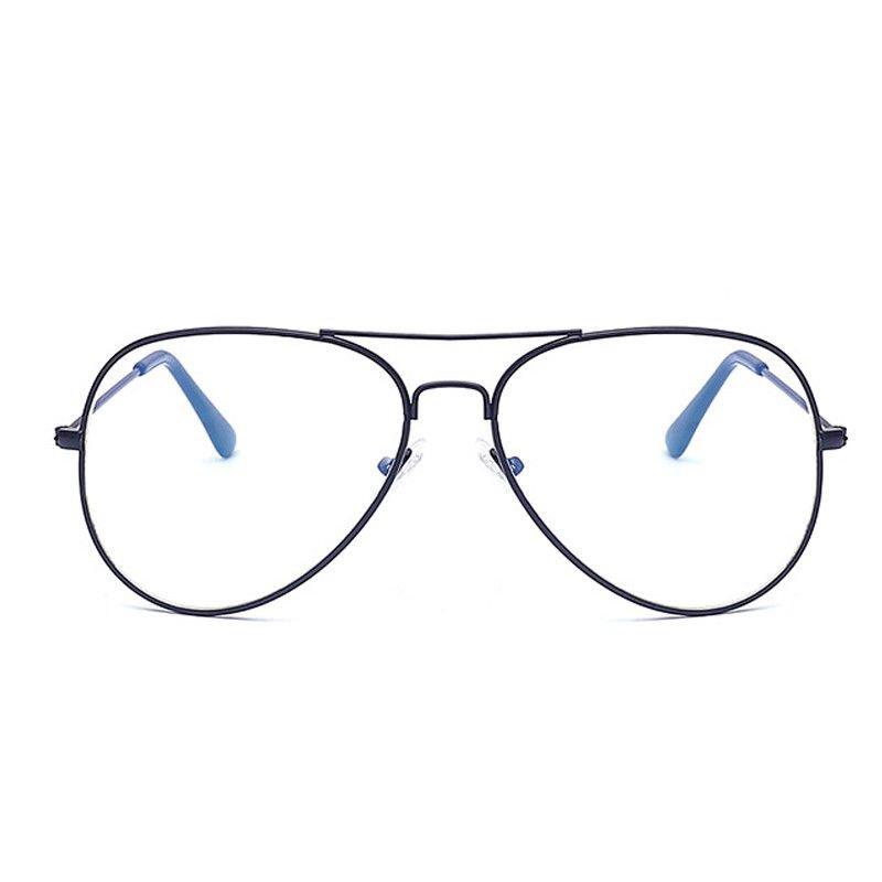 Eyeglasses Retro Boho Round Metal Frame Clear Lens Glasses Nerd Trendy Unisex Spectacles