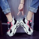 Platform Shoes Lace Up Velcro Creeper Chunky Rave Space Festival Sports Style Women's Sneakers