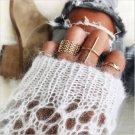 7 Pcs Ring Set Gold Midi Finger Knuckle Rings Vintage Punk Boho Festival Fashion Jewelry