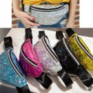 Laser Fanny Pack Unisex Holographic Bag Carrier Rave Festival Party Travel Convenient Holder