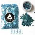 Bluebell Chunky Sequins Glitter Face Nail Body Art Decoration Stickers Rave Festival Eye Beauty