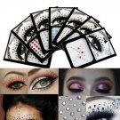 Face Gems Festival Rave Jewels Temporary Tattoo Party Body Stickers Fashion Rhinestones