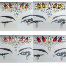 Rave Face Gems Jewels Temporary Body Tattoo Sticker Gypsy Festival Party Makeup Beauty Decoration