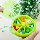 Medicine Pill Case Storage Container Plastic Box Tablet Sorter Weekly 7 Day Home Travel Vitamins Bag