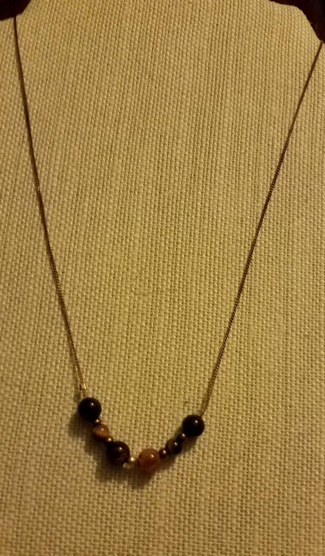 Dainty Gemstone Necklace