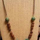 Imitation Turquoise Necklace