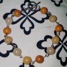 Honey Opal Link Bracelet