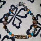 Tibetan Style Multistone Bracelet