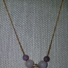 Dendritic Pink Opal Necklace