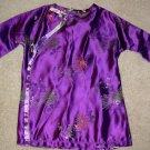 Purple childrens Kimono dress