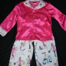 Pink Fashion Divas Childrens Pajamas