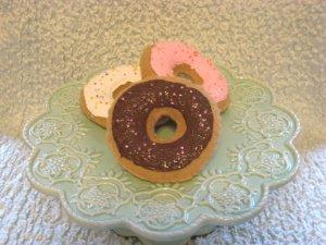 Childrens Playtime Sweet Treats---3 Sprinkle Donuts