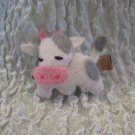 Cow Felt Barrette