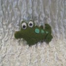 Alley The Alligator Felt Barrette