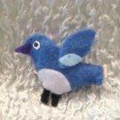 Bluebird Felt Barrette