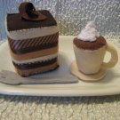 Felt Playtime ----Tiramisu and Espresso set!