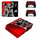 Persona 5 Vinyl Decal Skin Sticker for Sony PlayStation 4 Pro Console