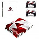 Umbrella Corps Vinyl Decal Skin Sticker for Sony PlayStation 4 Pro