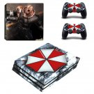 Vinyl Decal Umbrella Corp Skin Sticker for Sony PlayStation 4 Pro