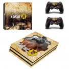 Vinyl Fallout Decal Sticker for Sony PlayStation 4 Pro